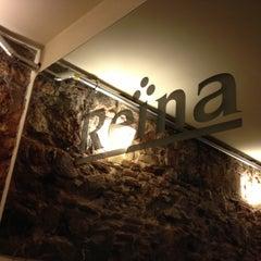 Photo taken at Reina by Jordi S. on 12/1/2012