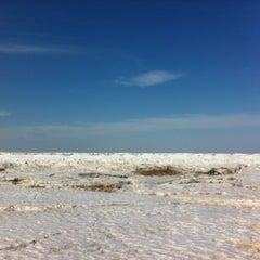 Photo taken at Majoru pludmale | Majori beach by Kyesi F. on 3/19/2013