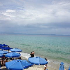 Photo taken at Almyra Beach Bar by Vasilis G. on 5/7/2013