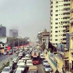 Photo taken at Bangla Motor by Hasan Z. on 1/2/2013