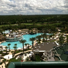 Photo taken at Orlando World Center Marriott by Dayna R. on 6/1/2013