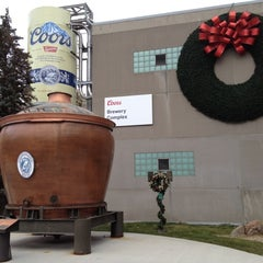 Photo taken at Coors Brewing Company by Scott B. on 12/9/2012