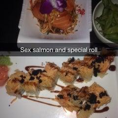 Photo taken at Saga Steakhouse & Sushi Bar by Sheree N. on 10/14/2014