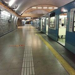 Das Foto wurde bei Metro La Cisterna von Ariel V. am 2/23/2013 aufgenommen
