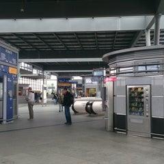 Photo taken at Bahnhof Berlin Südkreuz by Masha P. on 5/19/2014