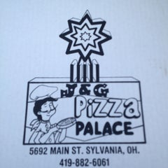 Photo taken at J & G Pizza Palace by Kristen D. on 2/13/2013