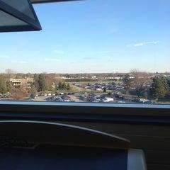 Photo taken at CMU Park Library by Katherine C. on 11/27/2012