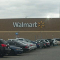 Photo taken at Walmart Supercenter by Christina on 12/11/2012