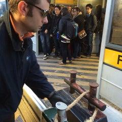 Photo taken at Imbarcadero ACTV Ferrovia by Pavel Z. on 2/24/2015