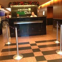 Photo taken at United Club by Arturo Z. on 12/5/2012
