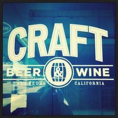 Photo taken at CRAFT Beer & Wine by Selinda A. on 5/26/2014