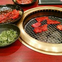 Photo taken at 焼肉 やる気 山科店 by nen m. on 10/23/2015