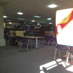 "Photo taken at Biblioteca - ""El Rey"" by Agustin V. on 2/20/2013"