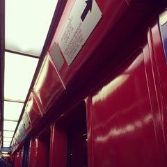 Photo taken at MBTA Red Line by Blue 💣 B. on 3/11/2014