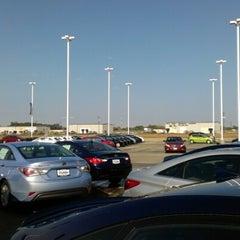 Photo taken at Roger Beasley Hyundai by Gabe G. on 12/4/2012
