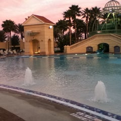 Photo taken at Parc Soleil: Pools and Waterslide by Casey R. on 2/1/2013