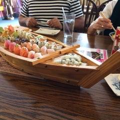 Photo taken at Samurai Sushi by kazim on 1/10/2014