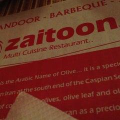 Photo taken at Zaitoon Restaurant by Ramesh K. on 6/19/2013