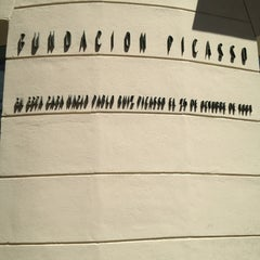 Photo taken at Fundación Picasso - Museo Casa Natal by Abelon M. on 4/10/2013