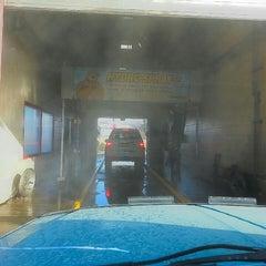 Photo taken at Rainmaker Car Wash by Jim C. on 3/17/2013