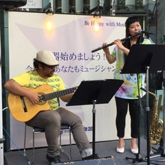 Photo taken at 山野楽器 銀座本店 by H S. on 5/30/2015