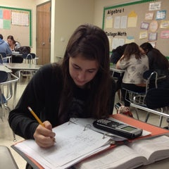 Photo taken at Shore Regional High School by Annie S. on 12/11/2012
