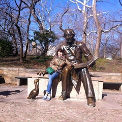 Photo taken at Central Park - Pat Hoffman Friedman Playground by Olesya M. on 3/5/2013