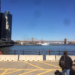 Photo taken at East River Ferry - Wall St/Pier 11 Terminal by Giambattista M. on 4/5/2016