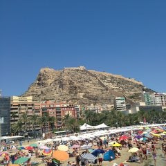 Photo taken at Alacant / Alicante by Андрей Б. on 8/15/2013