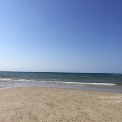 Photo taken at Sea Street Beach by Kristen C. on 9/7/2015