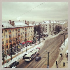 Photo taken at На Крыше by Stanislav S. on 2/5/2013