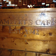 Photo taken at Lambert's Cafe by Sarah B. on 4/5/2013