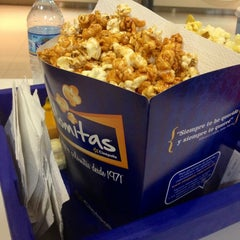 Photo taken at Cinépolis Portales by Efrain S. on 1/20/2013