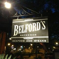 Photo taken at Belford's Savannah Seafood & Steaks by Chris M. on 4/26/2013