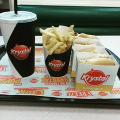 Photo taken at Krystal by Johnny M. on 6/6/2015