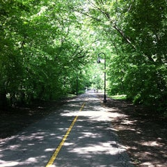 Photo taken at Grove-Cedar Bike Path by Georgy C. on 5/30/2013