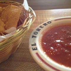 Photo taken at El Torero by Bill N. on 1/24/2013
