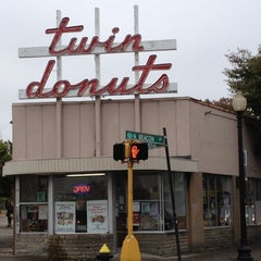 Photo taken at Twin Donuts by Kenneth M. on 10/4/2012