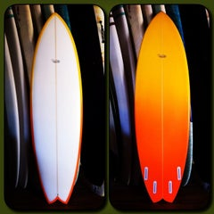 Photo taken at San Clemente Surfboards & Art By Paul Carter by Paul C. on 12/13/2013