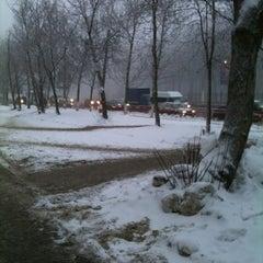 Photo taken at Medisinski Bus Stop by Gennadiy P. on 12/10/2012