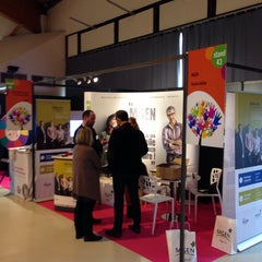 Photo taken at Parc des expositions Micropolis by Renaud D. on 12/3/2014