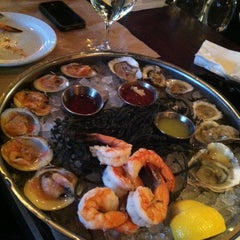 Photo taken at The River Oyster Bar by Marcela L. on 3/15/2013