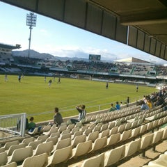 Photo taken at Estadio Municipal Castalia by Francisco G. on 5/1/2013