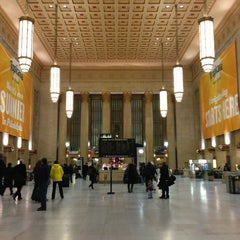 Photo taken at 30th Street Station by Alex D. on 1/4/2013