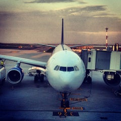 Photo taken at Aeroporto di Venezia Marco Polo (VCE) by mario m. on 10/11/2012