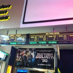 Photo taken at Golden Screen Cinemas (GSC) by RazIzzuddin on 11/3/2012
