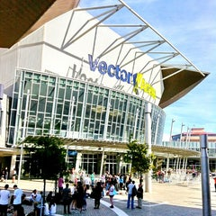 Photo taken at Vector Arena by Meng-Chiao T. on 2/21/2013