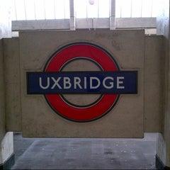 Photo taken at Uxbridge London Underground Station by Oliver C. on 2/16/2013