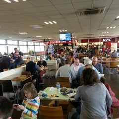 Photo taken at Leicester Forest Motorway Services (Welcome Break) by Oliver C. on 4/13/2013