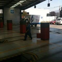 Photo taken at Planta Revisión Técnica TÜV by Javii V. on 1/8/2013